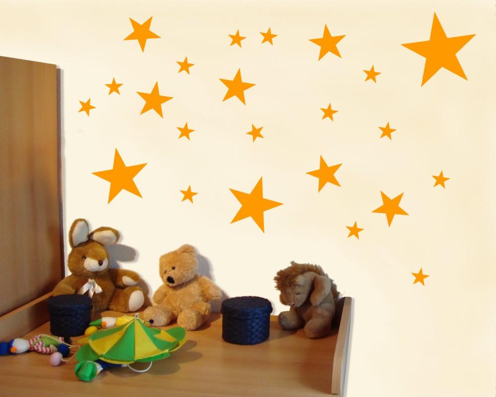 Wandtattoo sterne set gef llt als kinderzimmer deko kiddikiste for Kinderzimmer deko sterne