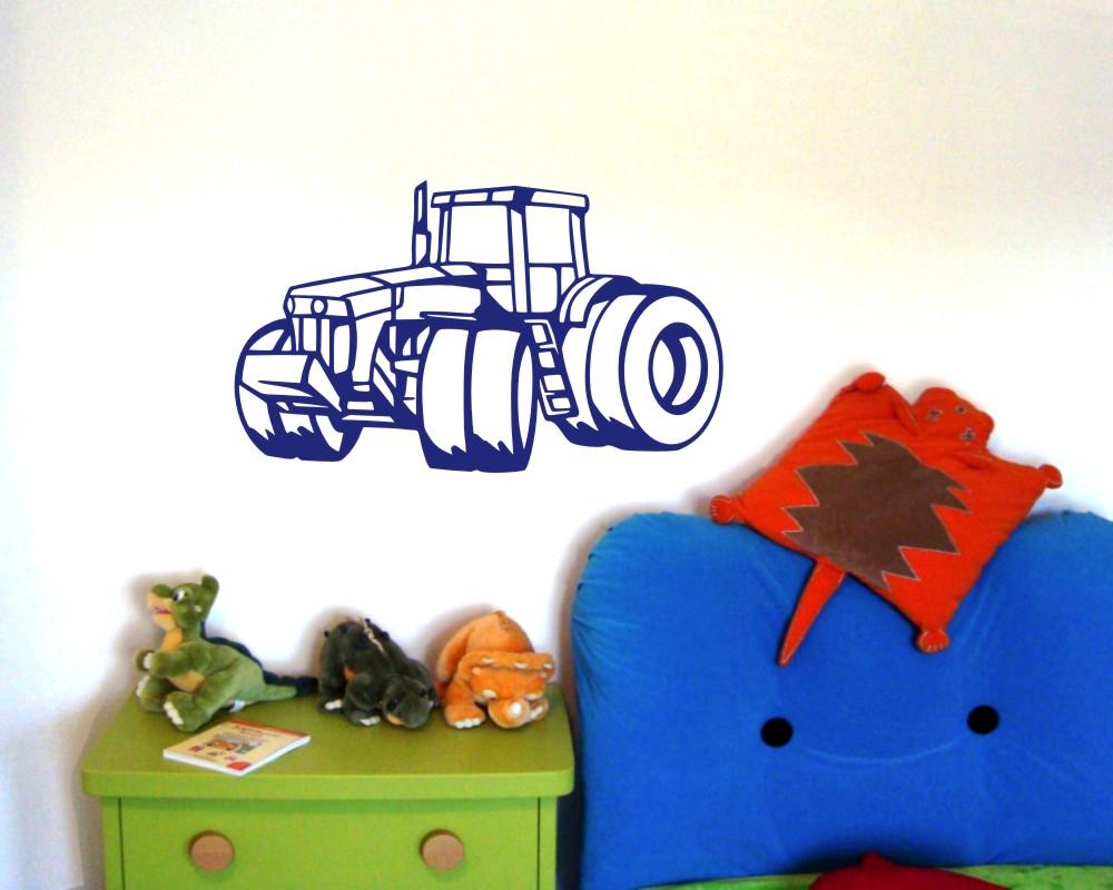 Wandtattoo Grosser Traktor